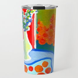oranges in the afternoon ... Travel Mug