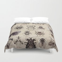 Insectonomicon Duvet Cover