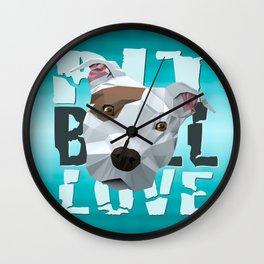Pit Bull Wall Clock