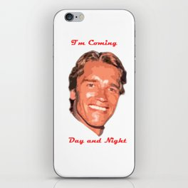 Coming Day and Night iPhone Skin
