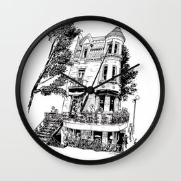 Fantasy of Saint Denis and Roy Wall Clock