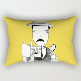 Sherlock Jr. Rectangular Pillow