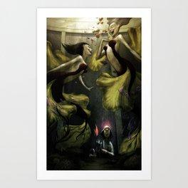 The Aquarium Art Print