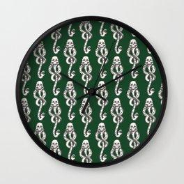 Dark Mark - Green Wall Clock