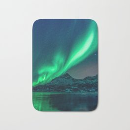 Aurora Borealis (Northern Lights) Bath Mat