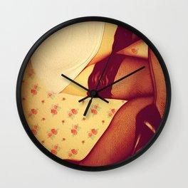 She Got Legs Wall Clock