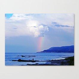 Love under the Rainbow Canvas Print
