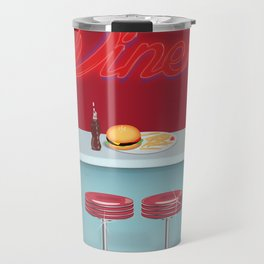 Classic All American Diner Travel Mug