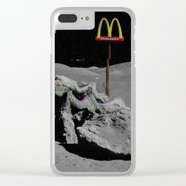 Mcdonalds aesthetic vhs Clear iPhone Case