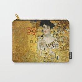"Gustav Klimt ""Portrait of Adela Bloch-Bauer I"" Carry-All Pouch"