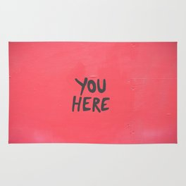 YOU HERE IN A HEART Rug