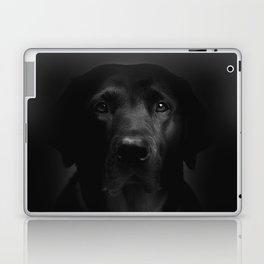 I met a girl (Black and white version) Laptop & iPad Skin