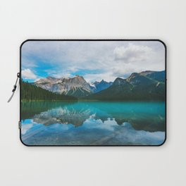 The Mountains and Blue Water Laptop Sleeve