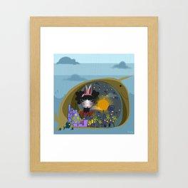 Distant Travels Framed Art Print
