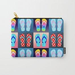 Flip Flop Pop Art Carry-All Pouch