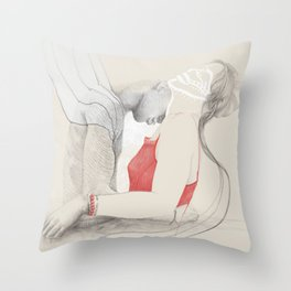 Passion Love Throw Pillow