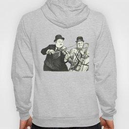 Laurel and Hardy Hoody