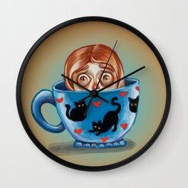I Miss my Coffee Wall Clock
