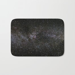Milky Way Stars Bath Mat