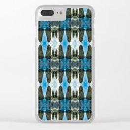 blueearth Clear iPhone Case
