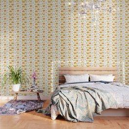 Pumpkins & Squash Pattern Wallpaper