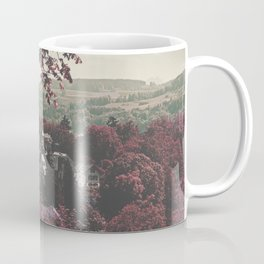 FOREST - RED - TREE - TOWN Coffee Mug
