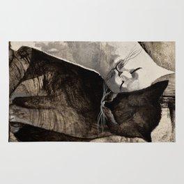 MORNING KISS by Raphaël Vavasseur Rug
