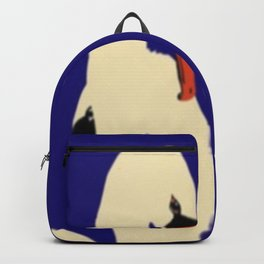 Swans Entwined Backpack
