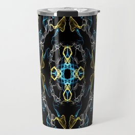 Abstract Silk Drawing Travel Mug