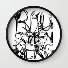 Rauschenberg Wall Clock