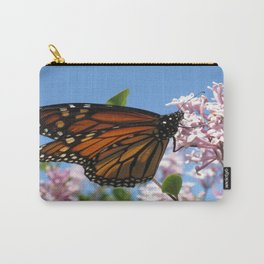 Summer Monarch Carry-All Pouch