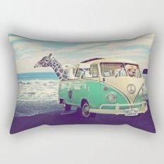 NEVER STOP EXPLORING THE BEACH Rectangular Pillow
