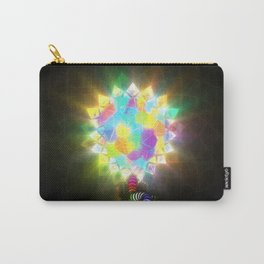 ELECTRIC STAINED GLASS Carry-All Pouch