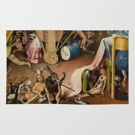 Visions of Hell by Heironymus Bosch Rug