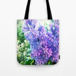 Lilacs in Bloom Tote Bag