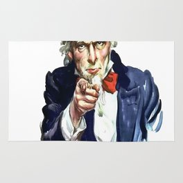 Uncle Sam I Want You Rug