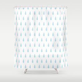 Raindrop Shower Curtains