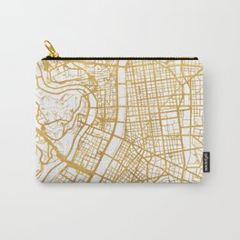 LYON FRANCE CITY STREET MAP ART Carry-All Pouch