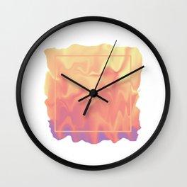 melting colors Wall Clock