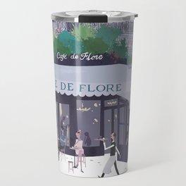 Cafe de flore Travel Mug