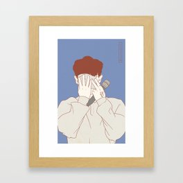 Chanyeol1 Framed Art Print