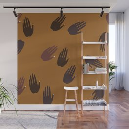 Melanin Hands Wall Mural