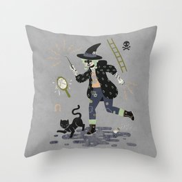 Curses! Throw Pillow