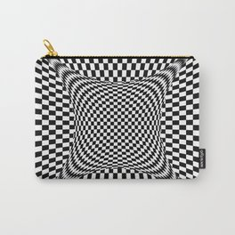 black white Carry-All Pouch