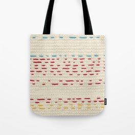 Yarns - Between the lines Tote Bag