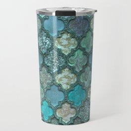 Moroccan Inspired Precious Tile Pattern Travel Mug