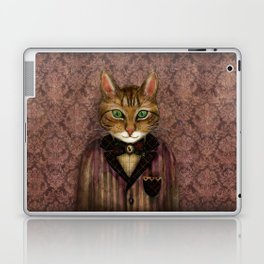 Sir Harold And His Mouse Betty Laptop & iPad Skin