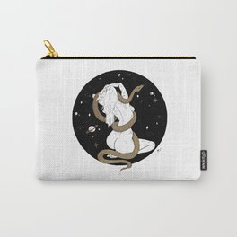 Space Goddess and the Golden Snake Carry-All Pouch
