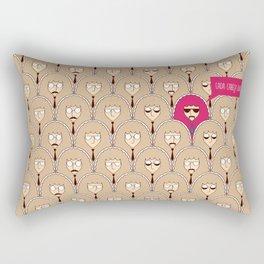 Cada cabeça Rectangular Pillow