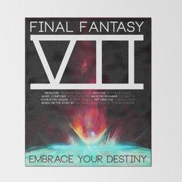 Final Fantasy VII - Destiny Throw Blanket